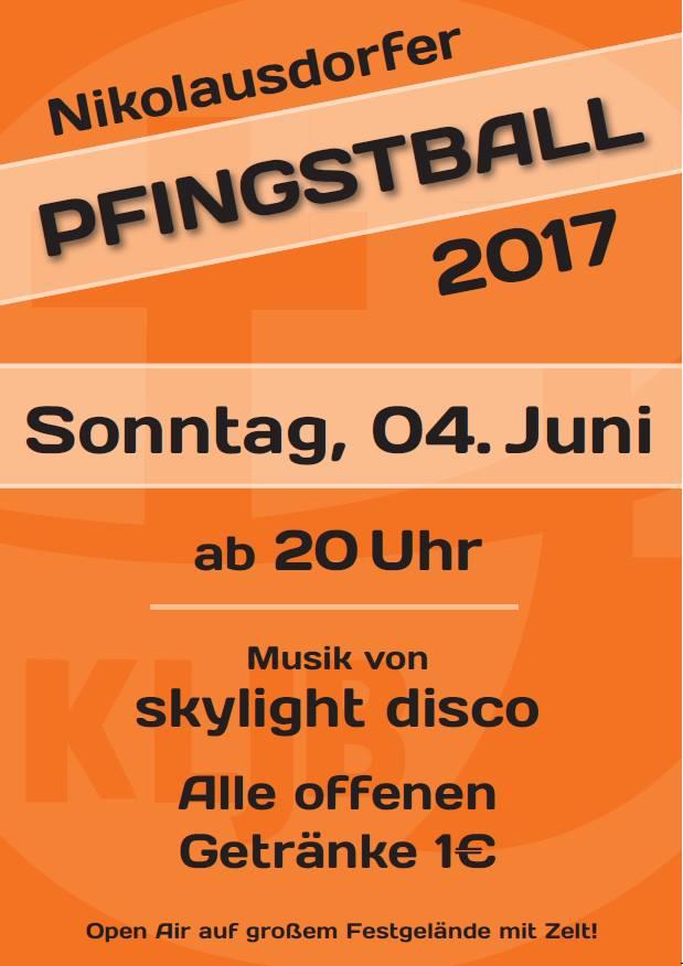 Pfingstball der KLJB Nikolausdorf